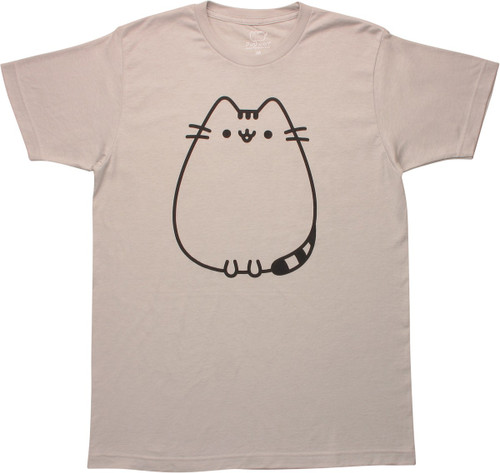 Pusheen the Cat Front and Back T-Shirt