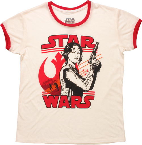 Star Wars Rogue One Jyn Ringer Juniors T-Shirt