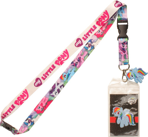 My Little Pony Friendship is Magic Charm Lanyard