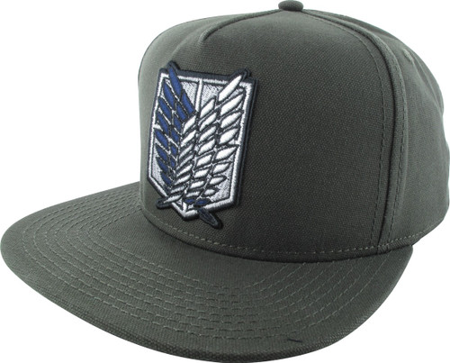 Attack On Titan Survey Corps Logo Snapback Hat