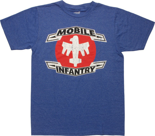 Starship Troopers Mobile Infantry T-Shirt