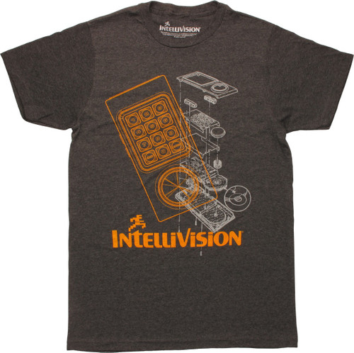 Intellivision Controller Schematic T-Shirt