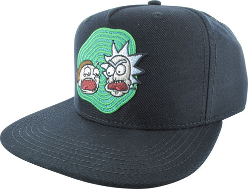 Rick and Morty Heads Snapback Hat
