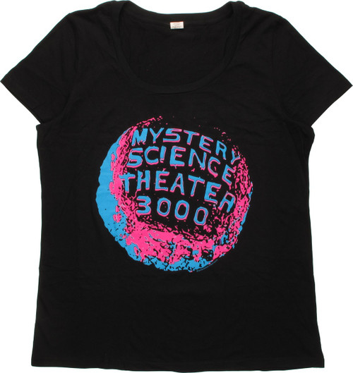 Mystery Science Theater 3000 Logo Ladies T-Shirt