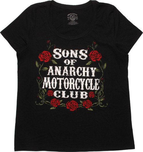 Sons of Anarchy Motorcycle Club Ladies T-Shirt