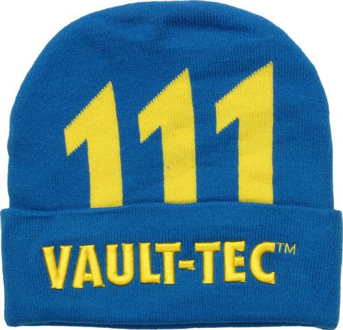 Fallout 111 Vault Tec Cuff Beanie
