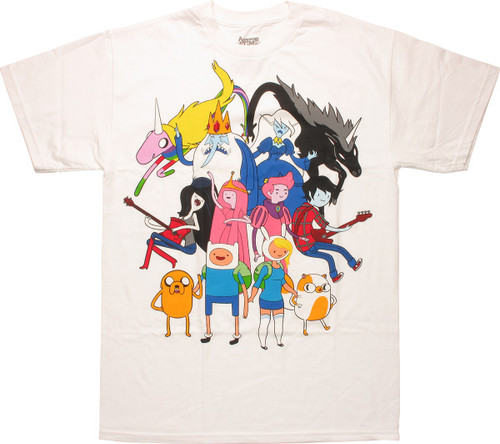 Adventure Time Mirror Counterparts Image T-Shirt