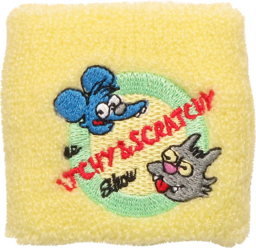Simpsons Itchy And Scratchy Show Wristband