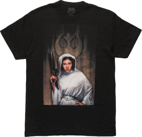 Star Wars Leia Painting T-Shirt