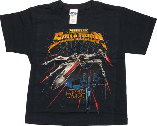 Star Wars Rogue Squadron X-Wings Juvenile T-Shirt