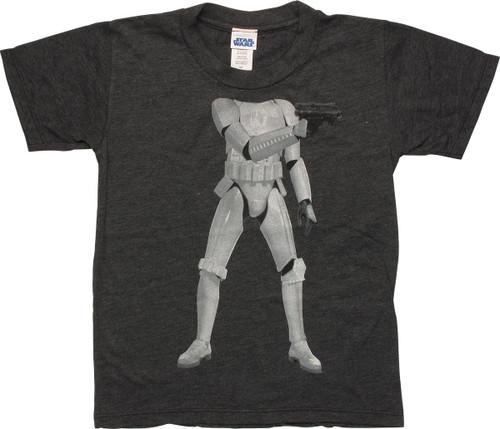 Star Wars Stormtrooper Body Juvenile T-Shirt