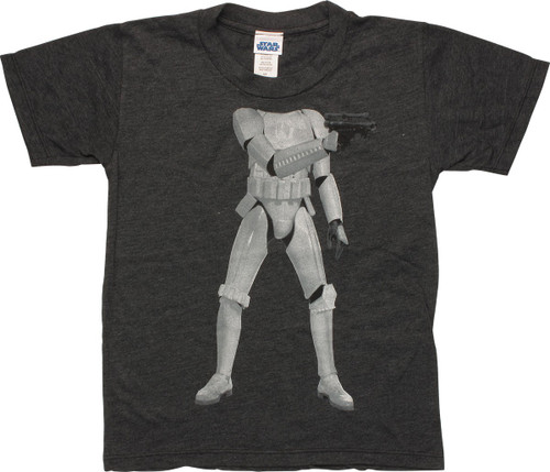 Star Wars Stormtrooper Body Juvenile T-Shirt