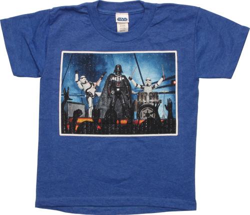Star Wars Darth Vader Empire Band Juvenile T-Shirt