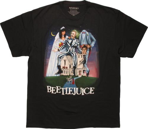 Beetlejuice Movie Poster T-Shirt