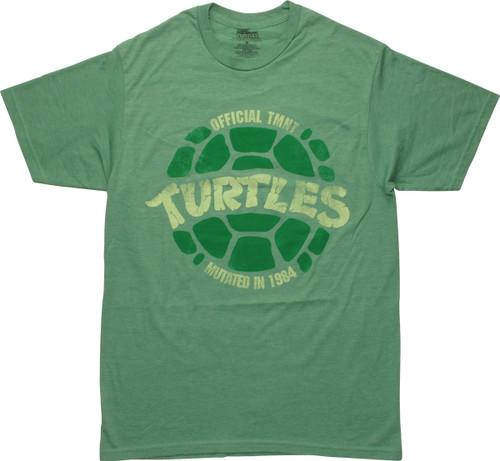 Ninja Turtles Official TMNT Mutated 1984 T-Shirt