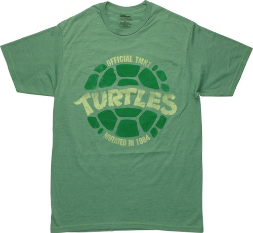 Ninja Turtles Official TMNT Mutated 1984 T-Shirt