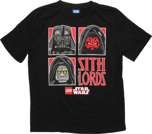 Star Wars Lego 3 Sith Lords Youth T-Shirt