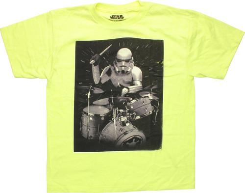 Star Wars Stormtrooper Drummer Youth T-Shirt