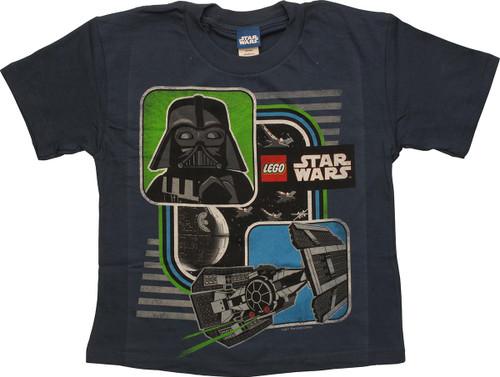 Star Wars Lego Vader TIE Fighter Juvenile T-Shirt