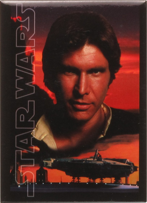 Star Wars Han Solo Falcon Bespin Tile Magnet