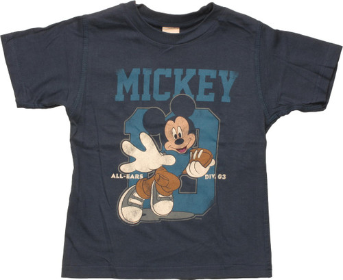 Mickey Mouse Football Reversible Toddler T-Shirt