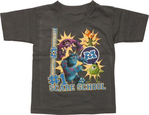 Monsters Inc Number 1 Scare School Toddler T-Shirt