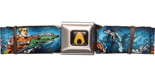 Aquaman Swimming Seatbelt Belt