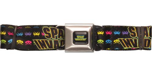 Atari Space Invaders Alien Stacks Seatbelt Belt