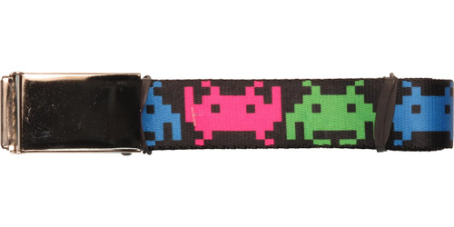 Atari Space Invaders Aliens Wrap Mesh Belt