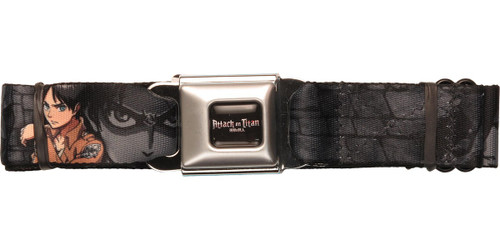 Attack on Titan Close Collage Seatbelt Belt