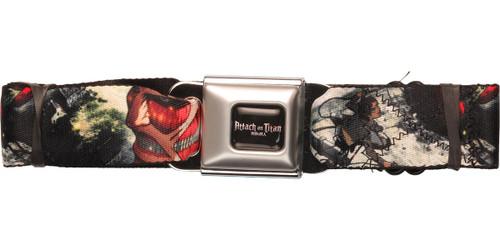 Attack on Titan Wall Battle Seatbelt Belt