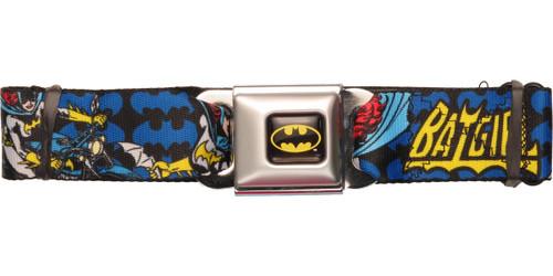Batgirl Action Poses Seatbelt Belt