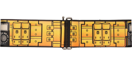Batman Utility Belt Yellow Cinch Waist Belt