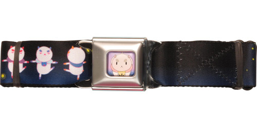 Bee and PuppyCat PC Poses Seatbelt Belt