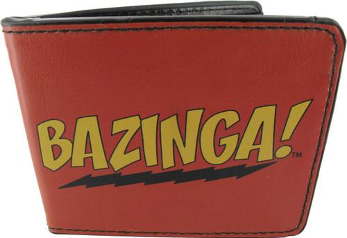 Big Bang Theory Bazinga Text Wallet