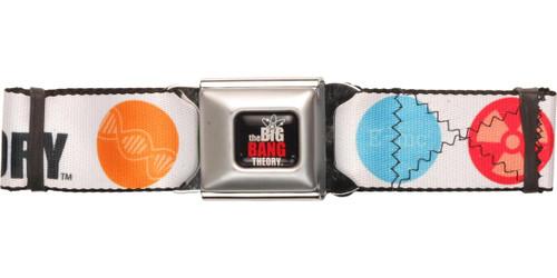 Big Bang Theory Color Icons Seatbelt Belt