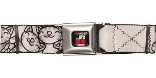 Big Bang Theory Soft Kitty Wrap Seatbelt Belt
