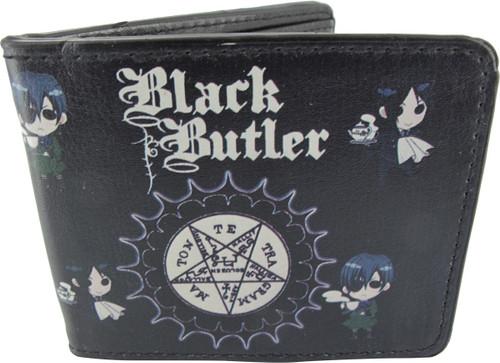 Black Butler Seal Crest Chibi Duo Wallet
