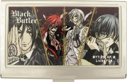Black Butler Quad Group Card Case