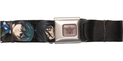 Black Butler Ciel Sebastian Duo Seatbelt Belt