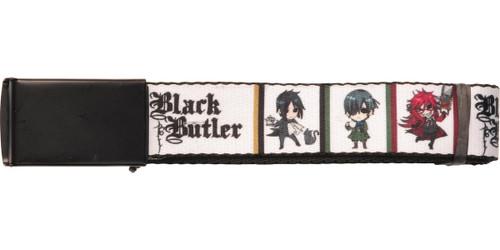 Black Butler Chibi Blocks Mesh Belt