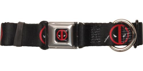 Deadpool Logos Pet Collar
