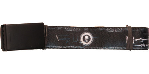Death Note Skull Icon Mesh Belt