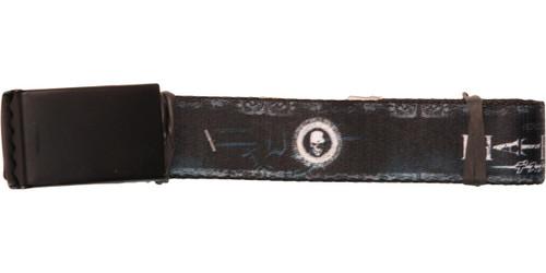 Death Note Skull Icon Mesh Belt