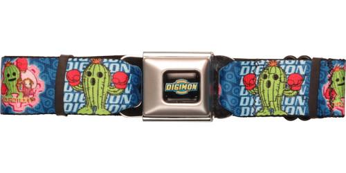 Digimon Mimi Togemon Seatbelt Belt