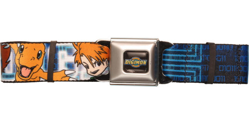 Digimon Tai Matt Joe Partners Seatbelt Belt