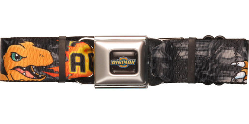 Digimon Agumon Flame Seatbelt Belt