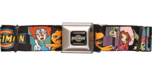 Digimon Kids Wrap Seatbelt Belt