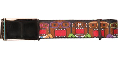Domo Kun Nerdy Glasses Mesh Belt