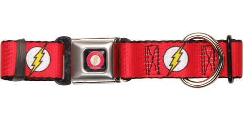 Flash Bolt Logo Pet Collar